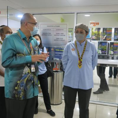 17 SEPTEMBER 2020 - LAWATAN TM HESS DI URBAN TRANSFORMATION CENTRE (UTC) SIBU