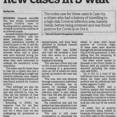 4. Covid 19 Four Siblings Among Five New Cases In Swak 19.10.20. Pg.3